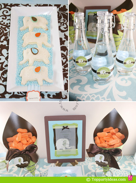 Elephant Baby Shower Party | Baby Shower Planning | Scoop.it