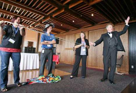 Audience interaction a trick of Topeka magician's trade - cjonline.com | OffStage | Scoop.it