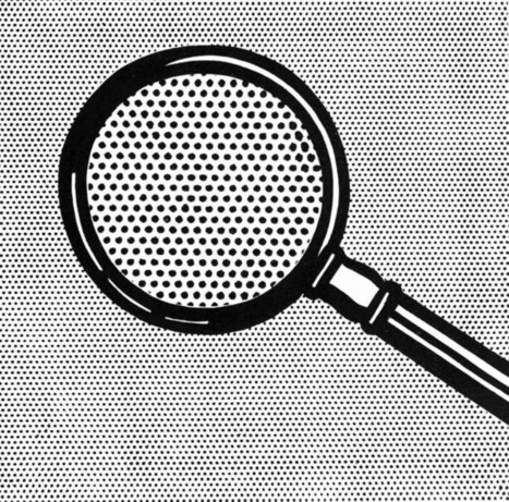The Magnifying Glass - Roy LICHTENSTEIN | US painting | Looks -Pictures, Images, Visual Languages | Scoop.it