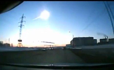 En vidéo : une pluie de météorites s'abat sur l'Oural | Un peu de tout et de rien ... | Scoop.it