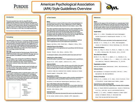 Purdue OWL: APA Formatting and Style Guide | Dicas úteis para a vida académica | Scoop.it