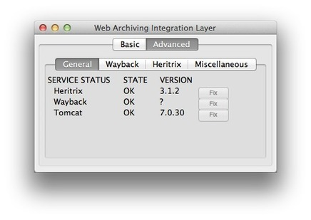 Web Archiving Integration Layer (WAIL) | Archieven | Scoop.it