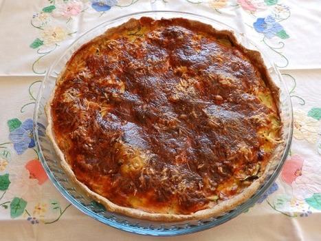 Recette de cuisine Quiche de courgettes | Nos recettes du monde | Recettes de Cuisine du Monde | Scoop.it