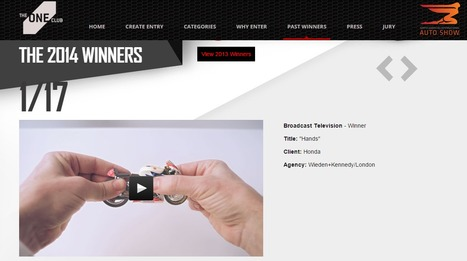 The Oneclub 2014 Automobile winners | Wunderman China Auto Marketing News | Scoop.it