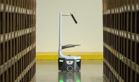 Ce robot améliore la productivité des entrepôts de 800% - Express [FR] | Post-Sapiens, les êtres technologiques | Scoop.it