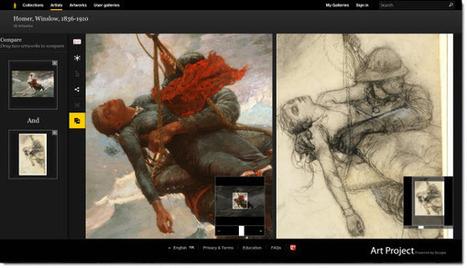 Nuevas funciones en Google Art Project: herramienta para comparar obras e integración con los Hangouts | Recull diari | Scoop.it