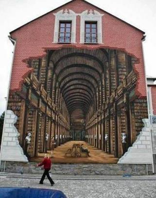 Trompe-l'oeil | Trucs de bibliothécaires | Scoop.it