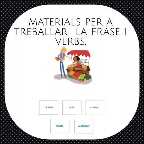 Materials per a treballar sintaxi i morfosintaxi | mardecoseslogopedia | Scoop.it