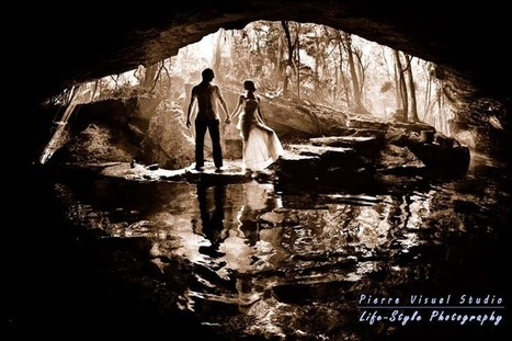 An Underwater Trash the Dress in a Cave - Cancun, Mexico.   Underwater Trash The Dress   Scoop.it