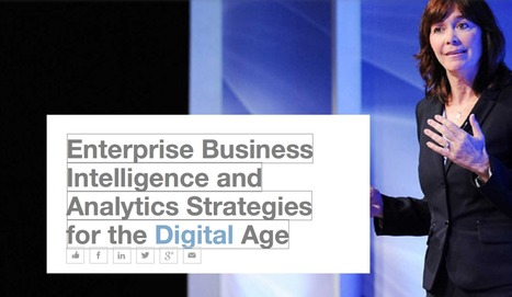 Enterprise Business Intelligence and Analytics Strategies for the Digital Age - Smarter With Gartner | Enterprise Architecture | Scoop.it