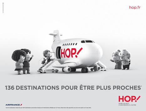 Design de marque : HOP ! bouscule les codes de l'aérien | Brand Marketing & Branding [fr] Histoires de marques | Scoop.it