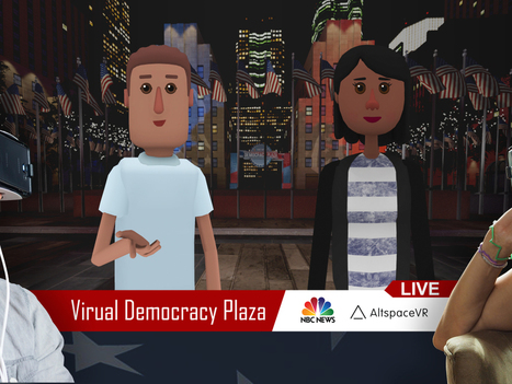 NBC Teams Up With AltspaceVR to Stream Presidential Debates in Virtual Reality | RJI links | Scoop.it