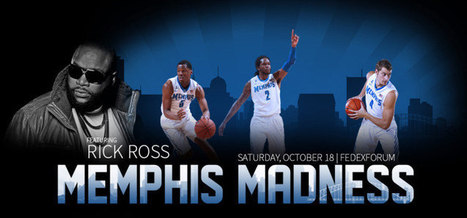 Rick Ross To Perform At Memphis Madness - Memphis Official Athletic Site | Memphis Tigers Women's Basketball | Scoop.it