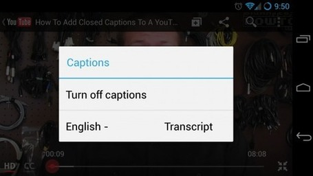 YouTube adds automatic closed captions in 6 new languages | Digital-News on Scoop.it today | Scoop.it