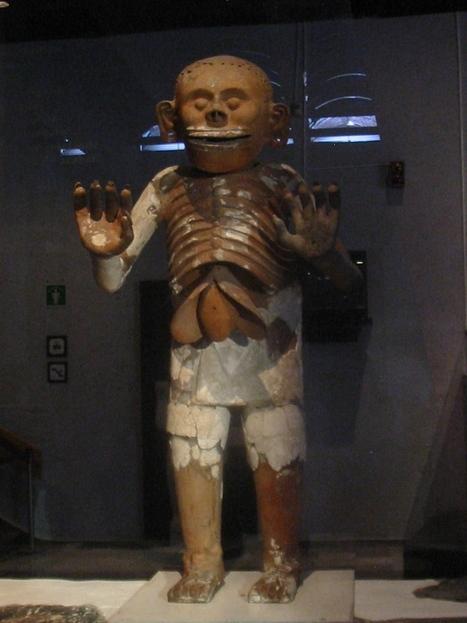 Mictlantecuhtli, 'señor del inframundo'. | La gran Tenochtitlán y sus fundadores los aztecas | Scoop.it