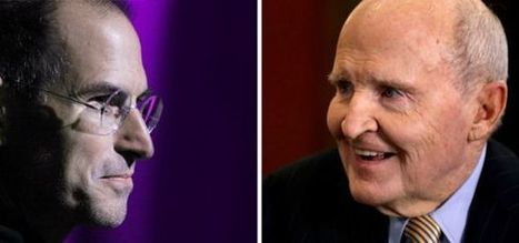 2 Kinds of Leadership: Are You a Steve Jobs or a Jack Welch? | Mediocre Me | Scoop.it