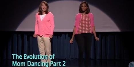 The Evolution of Mom Dancing Part 2 with Jimmy Fallon & Michelle Obama | ahlifikircom | Scoop.it