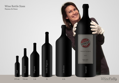 Guide to Wine Bottle Sizes | Wine cellar | Scoop.it