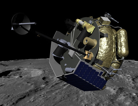 """Moon Express Unveils Breakthrough """"MX-1"""" Commercial Lunar Lander   SpaceRef Business   The NewSpace Daily   Scoop.it"""