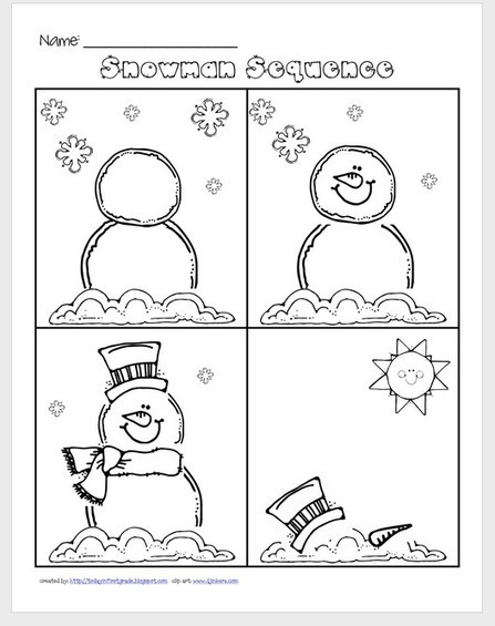Great Winter Books & Activities: Snowmen at Night - EASYBEE | Transform Lives through Speech Therapy | Scoop.it