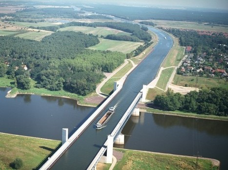 Magdeburg Water Bridge, the World's Longest Navigable Aqueduct | Maritime & Offshore News | The Blog's Revue by OlivierSC | Scoop.it