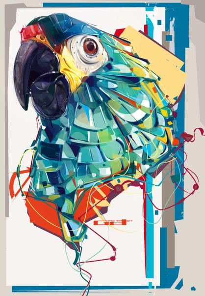 Military Macaw   Creative Art Moodbook   Scoop.it