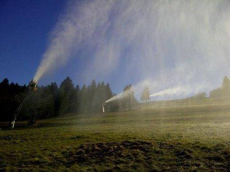 Dans les Vosges on remet les canons à neige contre la canicule | Vosges | Scoop.it