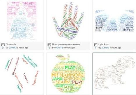 Tagul. Créer des nuages de mots interactifs | Arts et FLE | Scoop.it