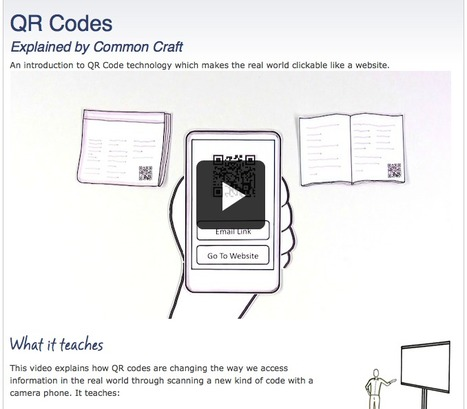 QR Codes | Common Craft | Learning & QR Codes | Scoop.it