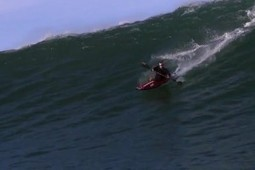 Biggest wave ever surfed in a kayak [vid] | Matador Network | Everything from Social Media to F1 to Photography to Anything Interesting | Scoop.it
