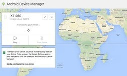 Google Android Device Manager begins rolling out - website also live | Educational Technology - Yeshiva Edition | Scoop.it