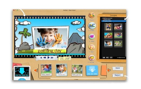 KidsMotion, videos and creativity for kids   Cool Web 2.0 Tools for Educators   Scoop.it