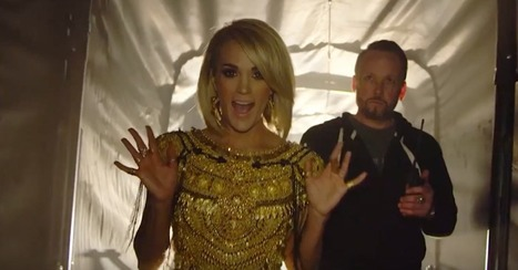 "Find out what Carrie Underwood insisted on including in her stunning, new ""Church Bells"" video 