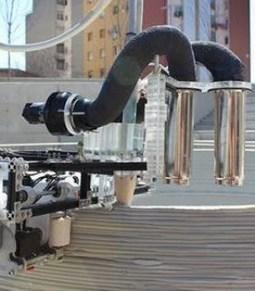 Este equipo de tres robots puede imprimir en 3D edificios enteros - El Tribuno.com.ar   World News   Scoop.it