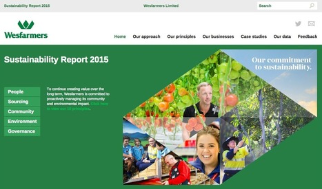Wesfarmers Releases 18th Sustainability Report - 3BL Media (press release)   Placemaking   Scoop.it
