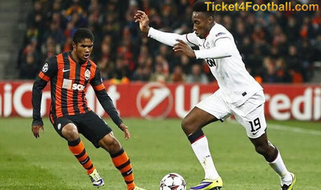 Match between Manchester United and Shakhtar Ends with 1-1 Draw   Football Ticket   Scoop.it