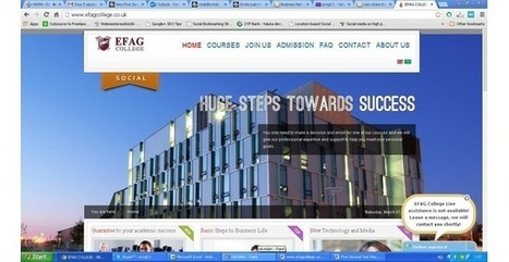 EFAG College | Vator profile | New Accredited Courses Online - EFAG College | Scoop.it