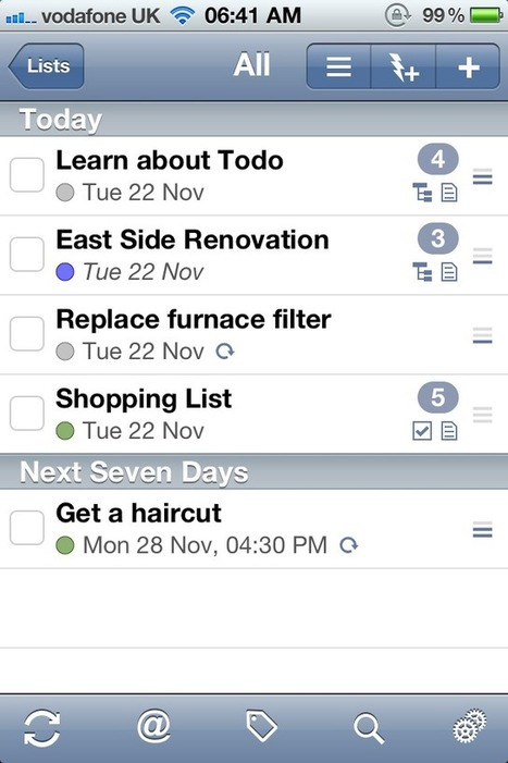 Todo Gets An Update - Adds iCloud Support, Makes General ... | mlearn | Scoop.it