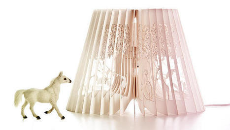 Lovely Lampshades That Double As Storybooks | Art is where you see it | Scoop.it