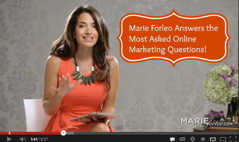#003: How to Find Your Audience, Get Serious About Content and Build Your Email List: An Interview with Marie Forleo [Podcast] — Amy Porterfield | Leadership | Scoop.it
