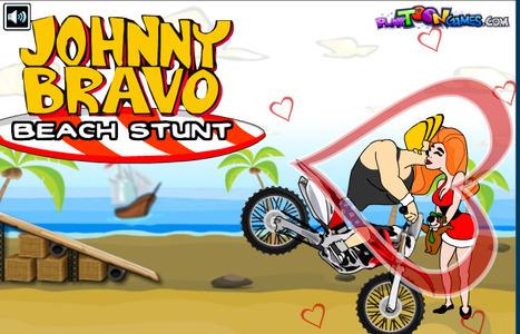 Johnny Bravo Beach Stunt | cartoon mini | Scoop.it