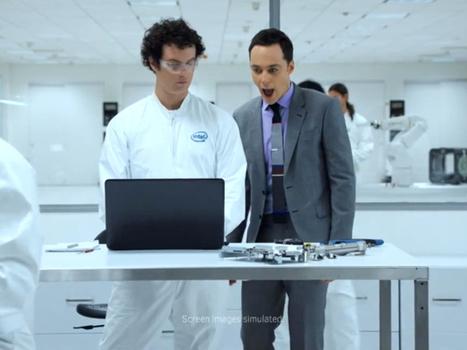Intel se paye Jim Parsons (The Big Bang Theory) pour sa pub | Le Lol et le Whaou des Internets | Scoop.it