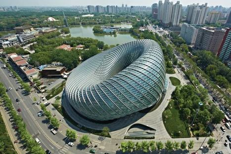DOUGHNUT-shaped television studios in Beijing, Designed by BIAD | The Architecture of the City | Scoop.it