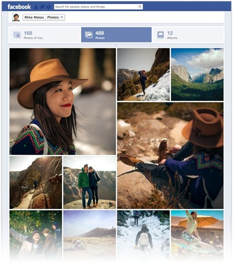 Facebook pushes photo prominence in timeline | Digital Lifestyle Technologies | Scoop.it