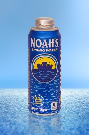 Rexam PLC - Media - News - Noah's Spring Water brings re-sealable aluminum package to consumers with Rexam's 24 oz. Cap Can (8 July, 2015) | Aluminium packaging | Scoop.it