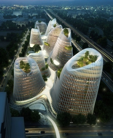 [Guiyang, China] 'Shan-Shui city' by Ma Yansong — Architecture | The Architecture of the City | Scoop.it