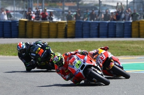 Injured Iannone pushes '150%' for heroic fifth | Ductalk Ducati News | Scoop.it