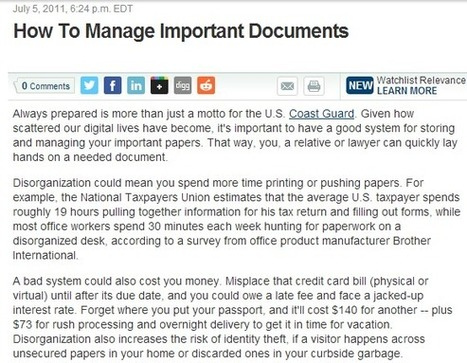 Document Scanning Services Can Help With Managing Documents Properly | Spectrum Information | Scoop.it