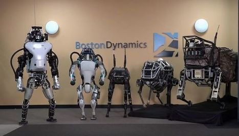 Meet Boston Dynamics' family of strange and amazing robots | Vloasis awesome sauce | Scoop.it