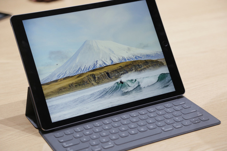 iPad Pro: Hands-On With Apple's New Tablet For Professionals AndCreatives | Apps for iOS – Highlights | Scoop.it